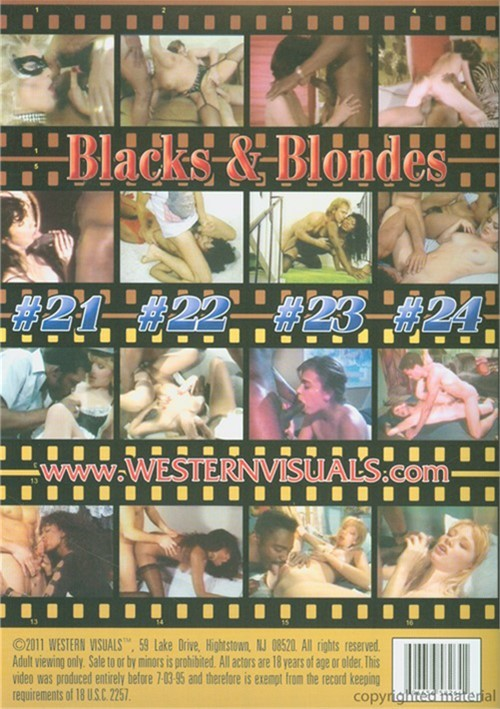 Blacks & Blondes Vol. 6 (4-Pack)