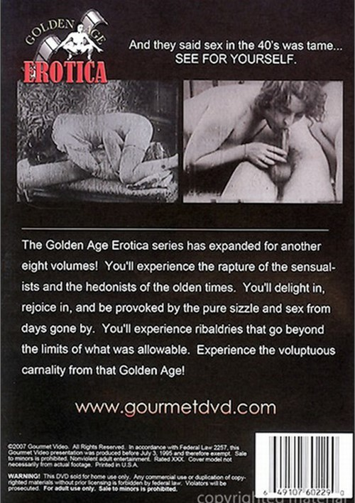 Golden Age Erotica Vol. 10