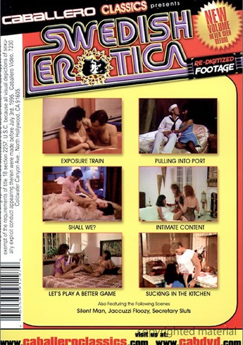 Swedish Erotica Vol. 97