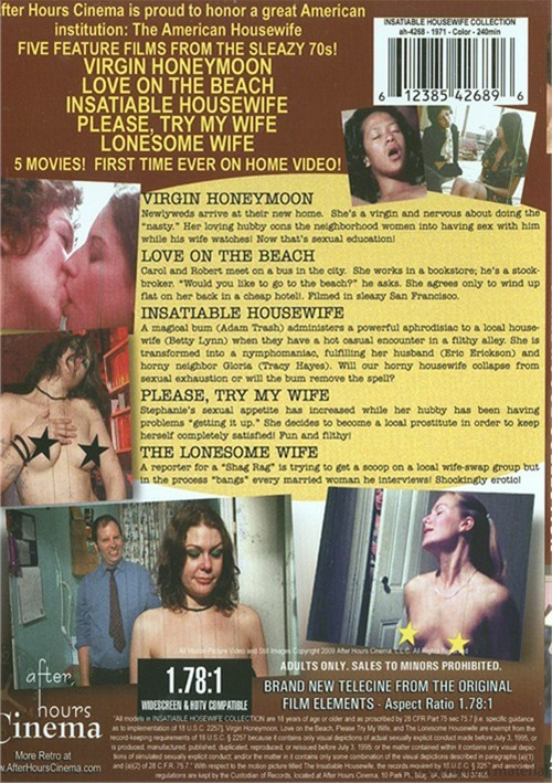 Insatiable Housewife: Grindhouse Collection