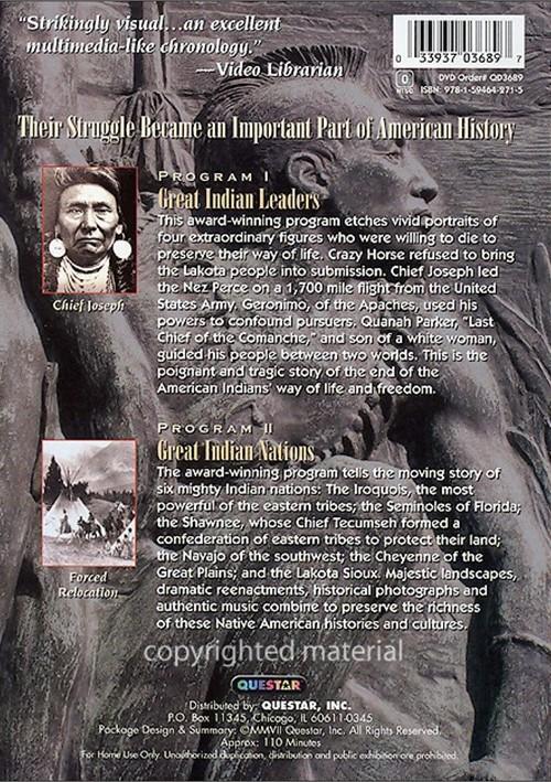 Великие индейские лидеры и нации / Great Indian Leaders & Nations (США, 2007) документальный   1262272bh