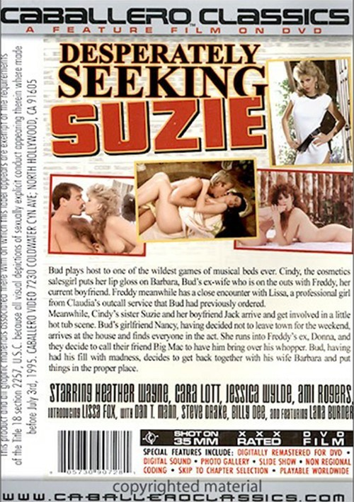 Desperately Seeking Suzie
