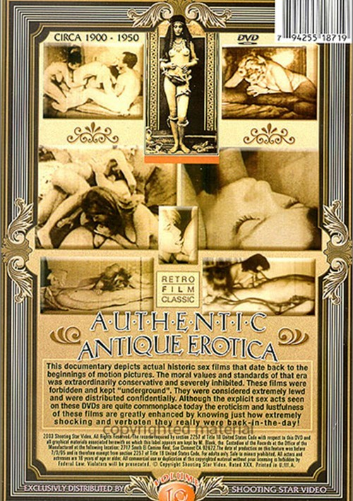 Authentic Antique Erotica Vol. 10