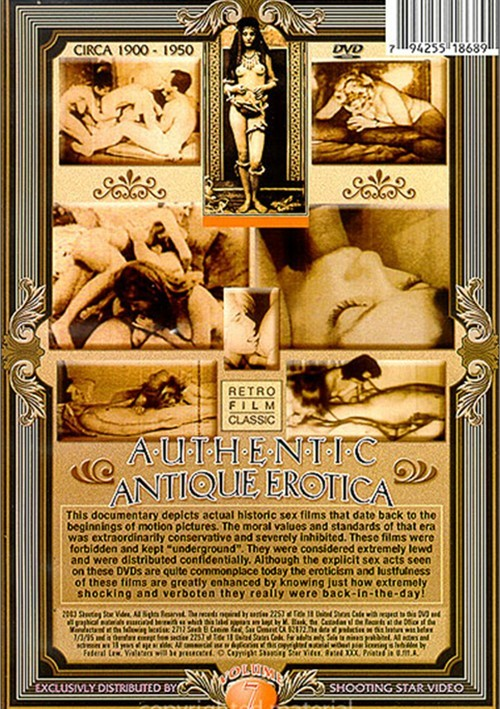 Authentic Antique Erotica Vol. 7