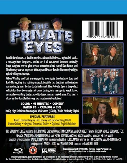 YESASIA: The Private Eyes (1976) (Blu-ray) (Hong Kong